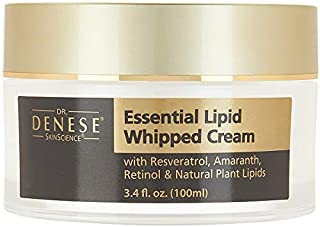 Dr. Denese Essential Lipid Whipped Infusion Cream with Organic Avocado, Rose Hip, Jojoba, Collagen & Resver...
