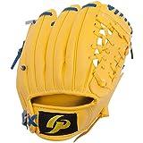 GP (ジーピー) 野球 グローブ 子供用 8インチ 右投げ 黄色 柔らかいボール付き 36948Y