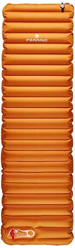 Ferrino Mat. GONF. Swift 60 Colchoneta Montañismo, Alpinismo y Trekking, Adultos Unisex, Naranja (Orange), Talla Única