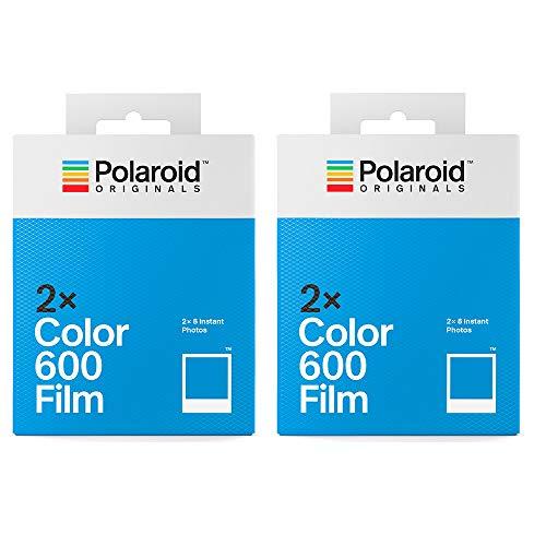 Polaroid Originals Lot de 4 paquets de 600 pellicules (32 photos), 4 paquets de films couleur 600, 32 photos (5037)