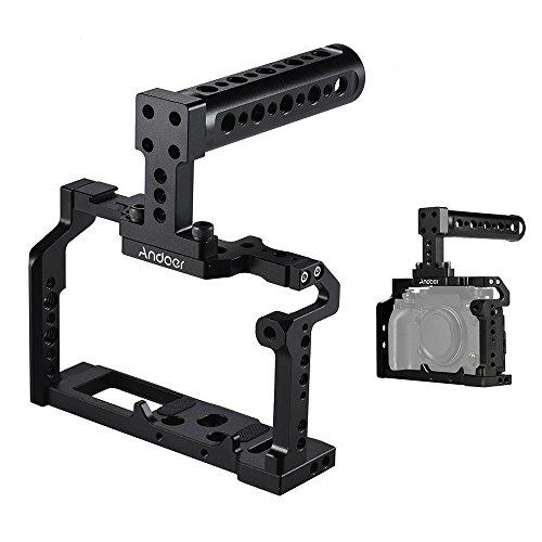 Godyluck- Aluminum Aleación Cámara Video Jaula Top Handle Kit Film Making System Compatible con Fujifilm XT2