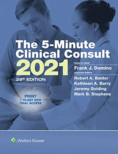 5-Minute Clinical Consult 2021 (The 5-Minute Consult Series) (English Edition)