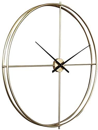 Reloj de pared moderno minimalista silencioso 21 pulgadas reloj de pared sala de estar arte personalidad creativa reloj de cuarzo continental