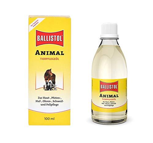Eva Shop® Ballistol Animal Premiumprodukt zur Hautpflege, Pfotenpflege, Ohrreinigung und Ohrenpflege, ideal zur Schweifpflege, Fellpflege und zur Hufpflege von sämtlichen Tieren