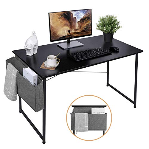 AuAg 39'' Small Computer Desk Home Office Desk, Simple Writing Desk with...