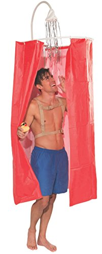 Forum Novelties Men's Just For Laughs Shower Curtain Costume, Multi, Standard