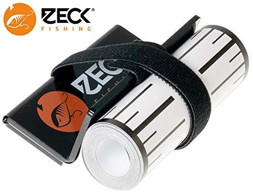 Zeck Predator Ruler 140x8cm - Maßband für Fische, Fischmaßband zum Spinnfischen, Angeltool zum Messen von Raubfischen