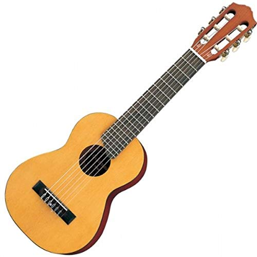Yamaha Acoustic Guitalele, GL1 – A hybrid between guitar and ukulele (70 cm) with 6 Strings (3 nylon/3 metal wound, commonly known as a nylon string set) and Fitted Yamaha Gigbag – Natural