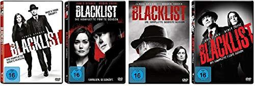 The Blacklist Staffel 4-7 (4+5+6+7, 4 bis 7) [DVD Set]