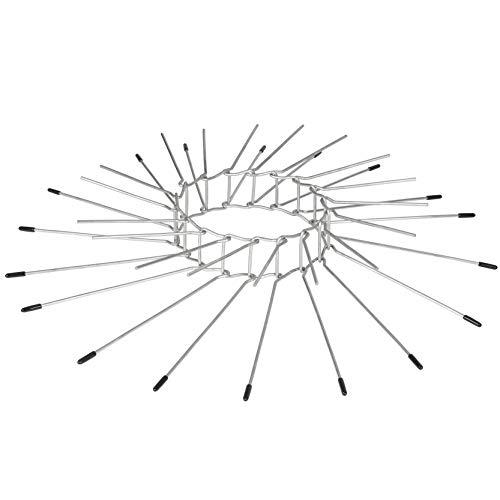 Gardigo Marderabwehrgürtel 2er Set für Fallrohre bis zu Ø 120mm aus Edelstahl I Baumschutz gegen Marder I Kletterschutz für Bäume zur Marderabwehr I Fallrohrschutz für Fallrohre I Deutscher Hersteller