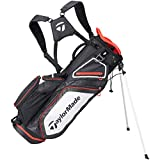 TaylorMade Stand 8.0 Bag Black/White/Red