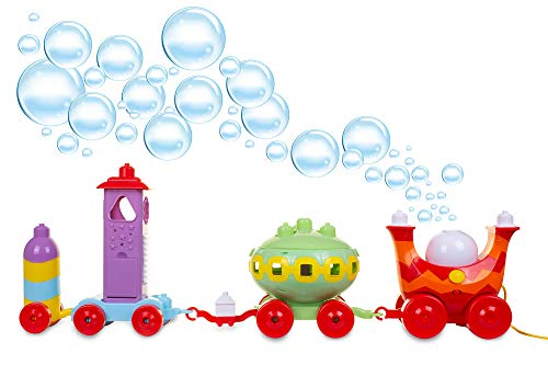 In the Night Garden Ninky Nonk Musical Activity Bubble Train, Blows Bubbles, 15 Ways to Play, Activity Centre, Cbeebies, Made to Last, Age 1 yr+