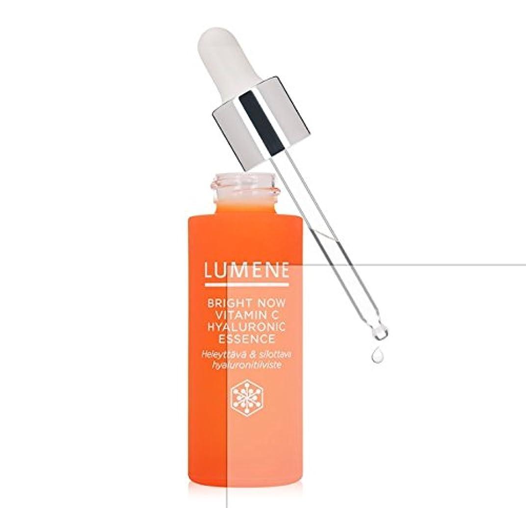 思春期合計コインランドリーLumene Bright Now Vitamin C Hyaluronic Essence (1 fl oz.) 美容液 [並行輸入品]