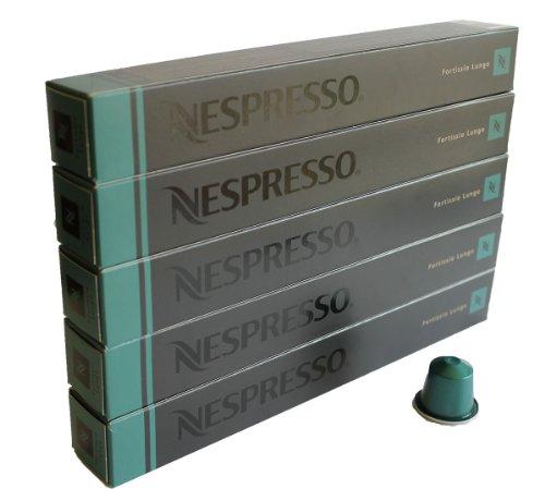 Nespresso Kapseln - 50 x Fortissio Lungo