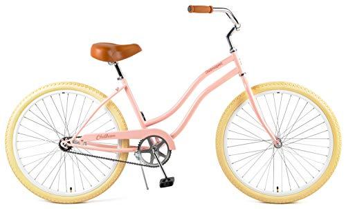 Retrospec Chatham Women's Beach Cruiser, Blush Pink, 16inch/One Size