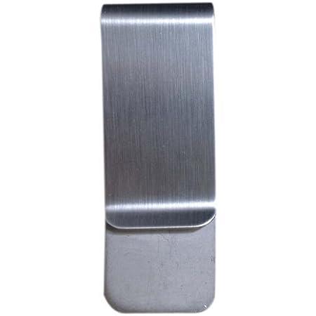 Silber cococity Geldklammer Edelstahl Geldclip 4 St/ück Geldscheinklammer Elegant Geldklammer Money Clip 5x2,5x0,75cm