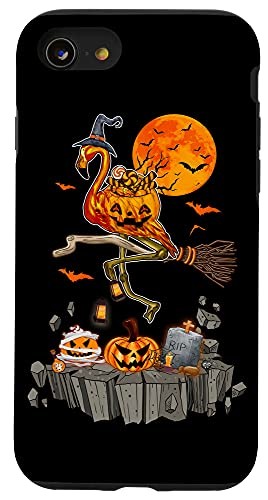 iPhone SE (2020) / 7 / 8 Holiday 365 Halloween Flamingo Witch Case
