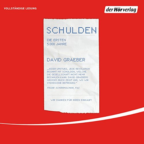 Schulden audiobook cover art