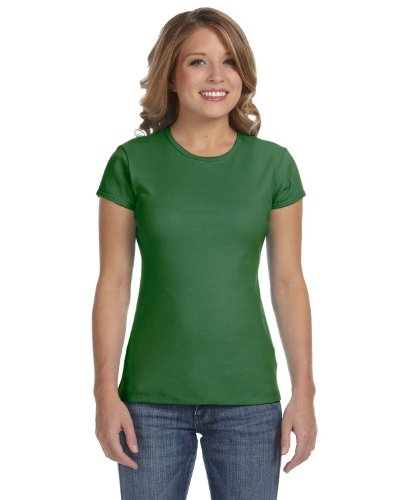 Womens Fitted Baby Rib Tee - 6