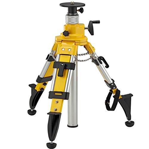 Elevator Tripod for Laser Level, Surveying Tripod with Adjustable Legs Laser Level Tripod Adjustable for Surveying Instruments Cross Rotary Lasers
