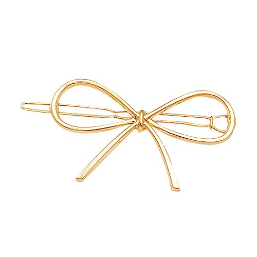 Homeofying Pinces à cheveux en métal pour femme Motif triangle géométrique