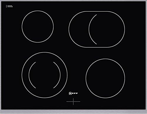 Neff MR 1472 N Plaque de cuisson électrique/céramique/verre céramique/ 70,80 cm/acier inoxydable