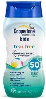 Coppertone Kids Tear Free Sunscreen, SPF 50, 6oz. Per Bottle (2 Pack)