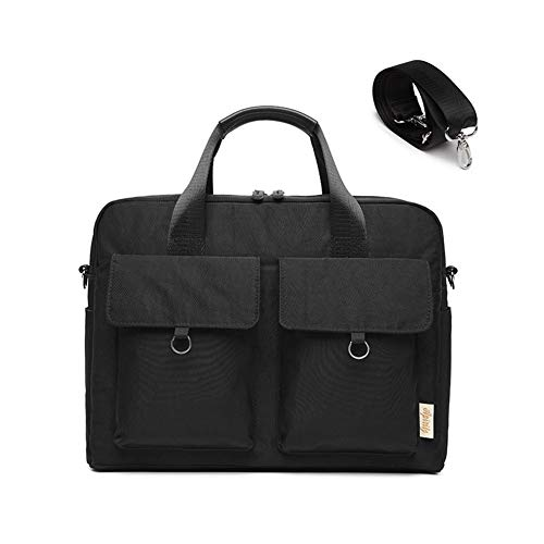 ZH Ladies Laptop Tote Bag Large Womens Business Laptop Shoulder Bag Work Tote Purse Office Messenger Briefcase Travel Shopping Handbag with Strap for Up To 15.6 Inch Laptop Computer,Gray