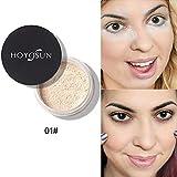 Allbestaye Banana Loose Powder Naked Baking Transparent Setting Powder Face Makeup Finish Concealer Oil Control (01#)