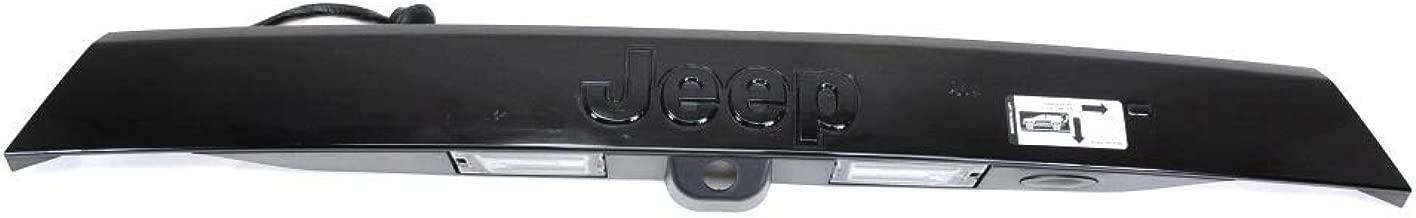 2011-2013 Jeep Grand Cherokee REAR Liftgate Handle Assembly BLACK MOPAR OEM