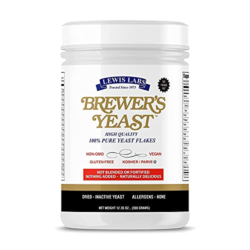 Brewers Yeast Flakes for Lactation Cookies, Breastfeeding...