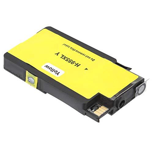 Cartucho de Tinta para Impresora, Cartucho de Tinta 955XL Accesorios de Impresora OfficeJet Pro Cartucho de Tinta para reemplazo de Cartucho de Tinta para Impresora(955XL Yellow, Polar Animals)