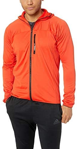 adidas outdoor Tracerocker Manufacturer direct delivery Max 82% OFF Fleece Hooded