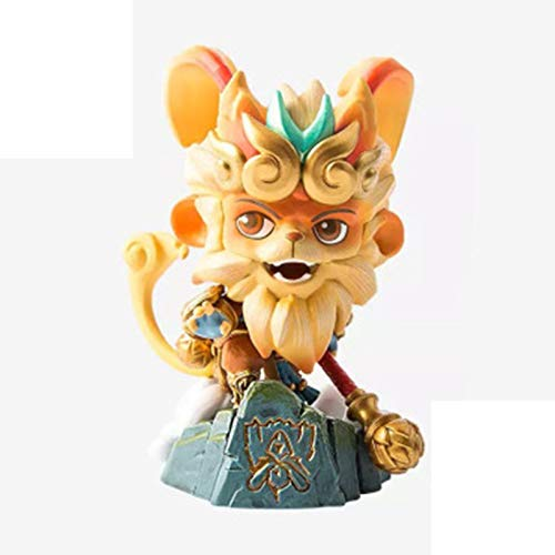 YHX Summoner Canyon genuine hand-made, Monkey King, Sun Wukong, Q version of the character model pose