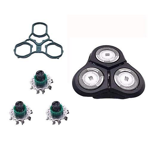 QYHSS Repuesto de cuchillas de afeitar rotativas eléctricas Accesorios, for Philips Norelco Series RQ1150 RQ1151 RQ1155 RQ1160 RQ1180 RQ1190 RQ1160 CC RQ1175 RQ1195 RQ1150 XRQ1160