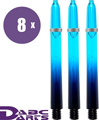 Schwarz und Blau,/Gr/ö/ße M mit Kugelschreiber von Darts Corner insgesamt 3 St/ück 1 Set Harrows Supergrip Fusion Dartpfeil-Sch/äfte