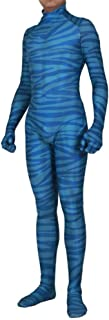 blue avatar bodysuit