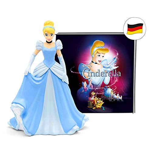 tonies Hörfigur für Toniebox, Disney – Cinderella Hörspiel Ohne Liedern, Hörspiel für Kinder ab 4 Jahren, Spielzeit ca. 59 Minuten