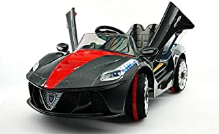Moderno Kids Ride on Toy Car Battery Power MP3 12V Battery Powered Electric Wheels NEW 2018 MODEL Ferrari Spider Style Kids R/C Remote