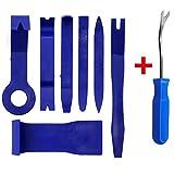 minzhenamz 8 Pcs Auto Trim Removal Tool Kit,Lever Automotive Interior Wedge Tool,Auto Car Car Door...