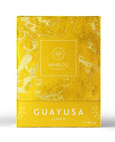 Guayusa Tee LEMON lose von NIMBOO - (100g) | Nachhaltige Leistungssteigerung | mehr Konzentration | Alternative für Energy drink - Grüner Tee - Mate - & Kaffee