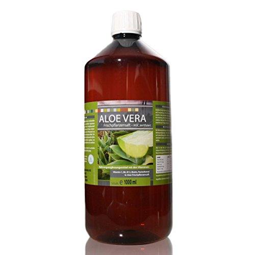 Medicura Aloe Vera 99.6% Frischpflanzensaft - 1000 ml PET-Flasche