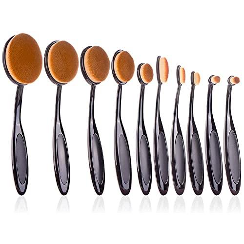 10 Pack Crafting Ink Blending Brushes Set Background Brush for Blender Paper Crafter