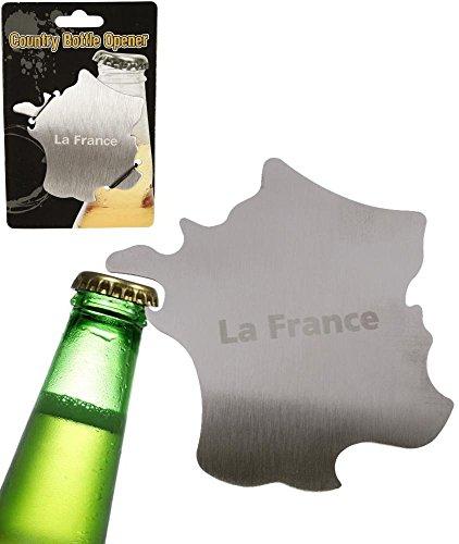 LCDG Apribottiglie in Metallo in Forma di Francia. Apre Bottiglia insolito