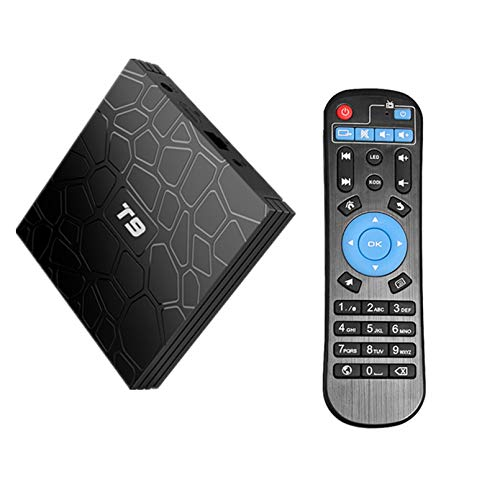 ZJ 6K 2.4G / 4GHZ WiFi Android 9.0 Google Quad Core Smart TV Box Media Player 16GB 32GB 64GB HD Network TV decodificador(Color:4GB+64GB)
