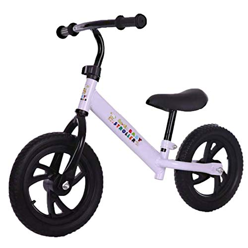 N-B Adjustable Children's Balance Bike Children's Non-pedal Bicycle 12-inch Children's Toddler Toy With Footstool Suitable For Children 1-6