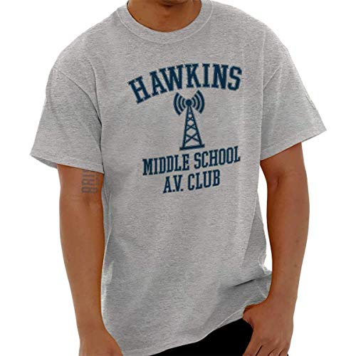 AV Club Strange Nerds Hawkins Middle Things T Shirt tee,Cami