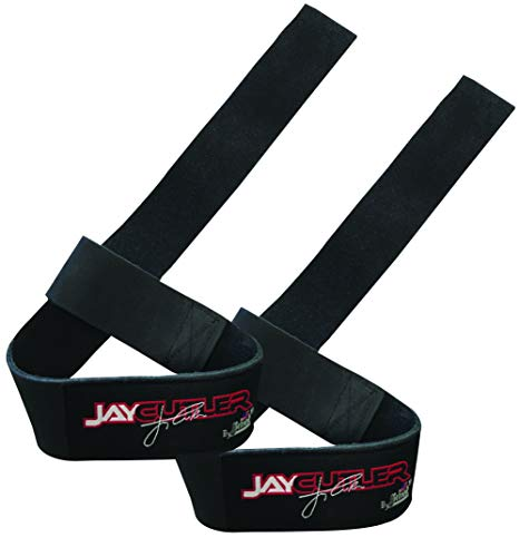 Schiek Sports, Inc. Jay Cutler Signature Jay-LLS Leather Weight Lifting Straps for Bodybuilding