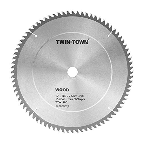 TWIN-TOWN TTW1280 12-Inch Saw Blade