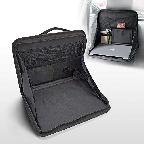 auvstar Auto Rücksitz Laptop Ständer,Laptop Tasche Ständer für KFZ,für Bücher, Snacks, Office Dokumente,Smart Phones